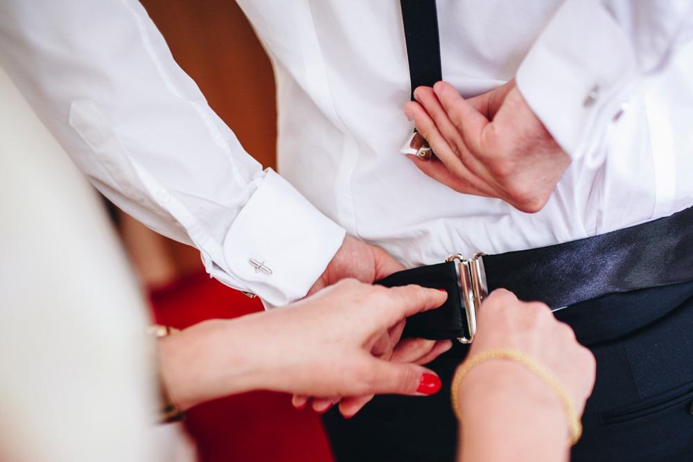 Fotograf na ślub, przygotowania, fotograf ślubny, Pan młody