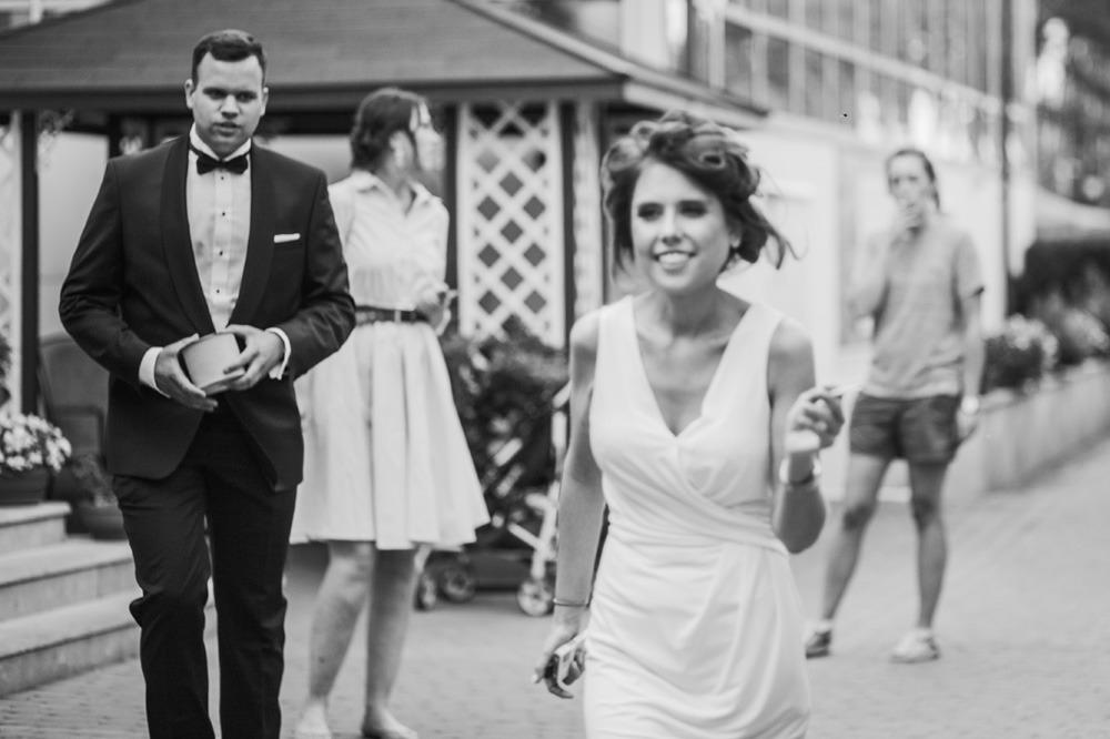 Uciekająca panna młoda, fotograf ślubny