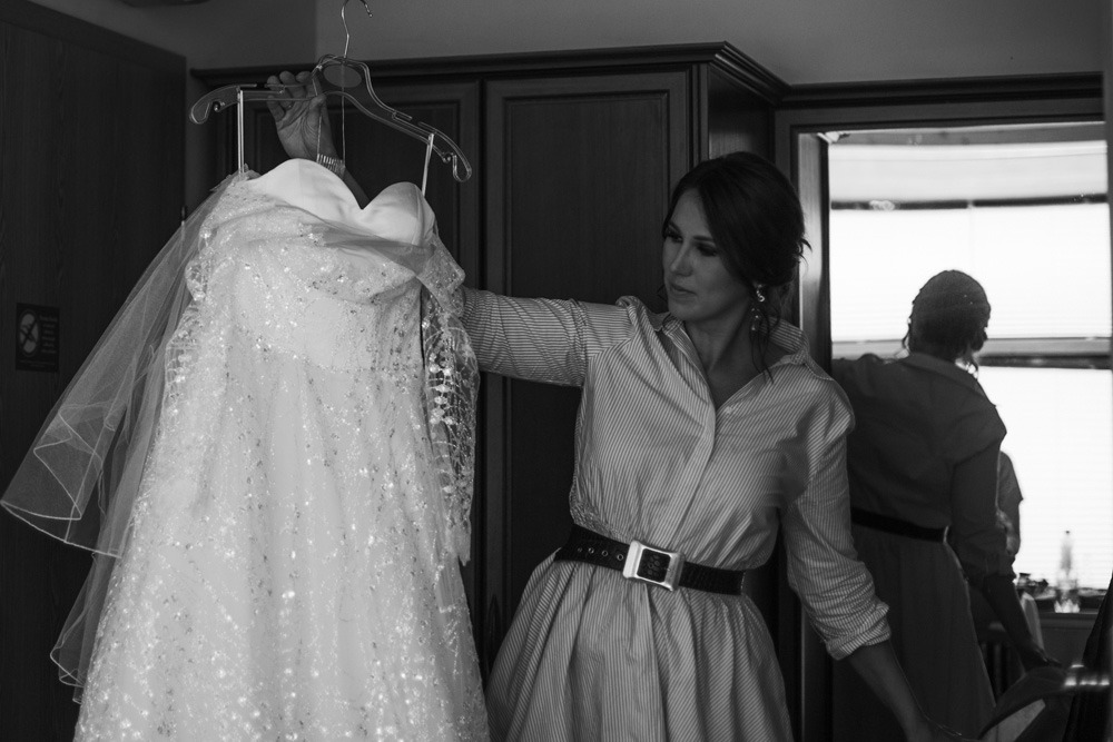 Przygotowania panna młoda, ślub kościelny, fotograf ślubny