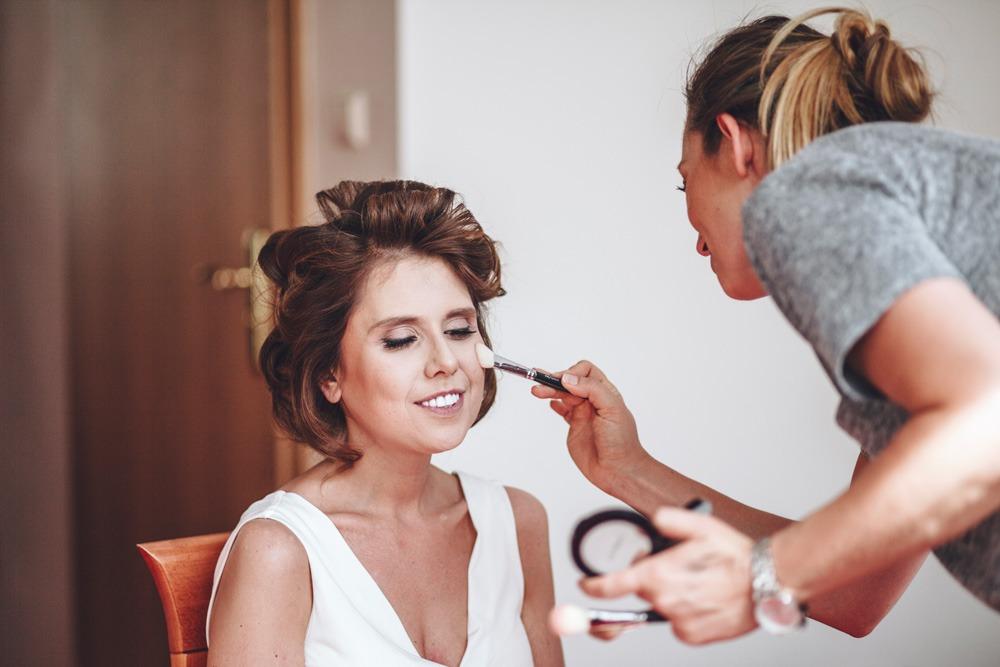 Makijaż ślubny, panna młoda, przygotowania ślubne