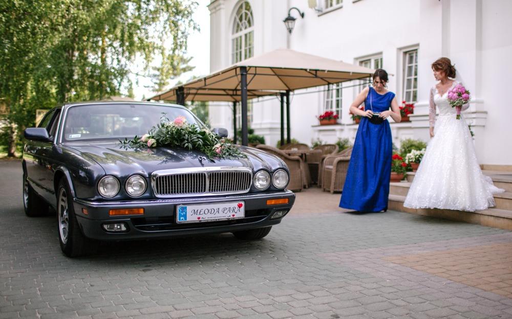samochód do ślubu Jaguar