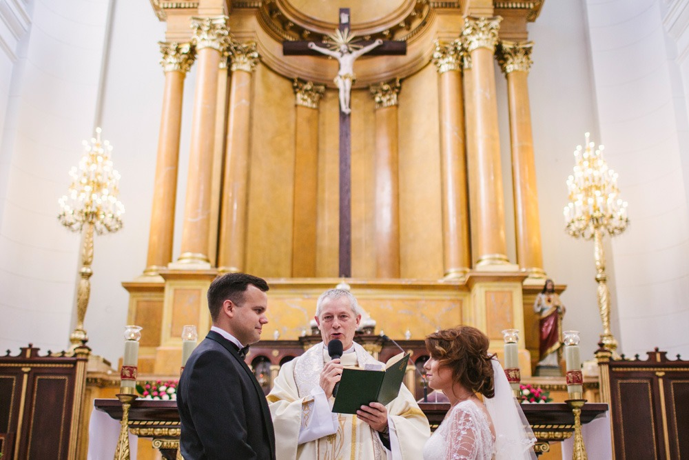 ślub kościelny przysięga małżnskae