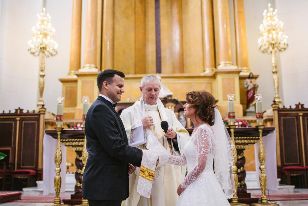 Przysięga małżeńska ślub kościelny