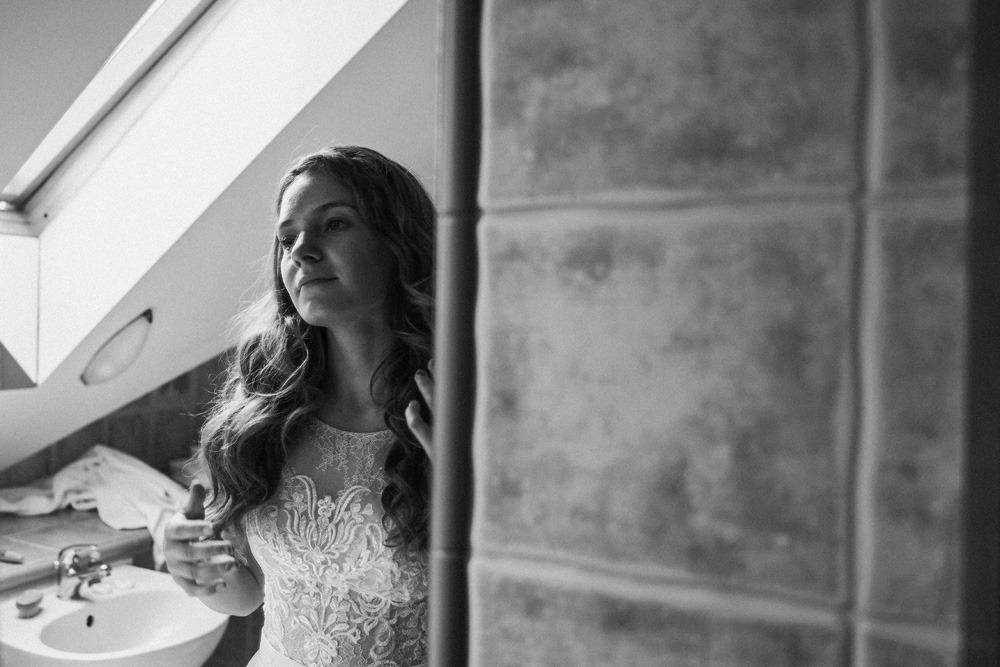 Panna młoda, przygotowania, fotografia ślubna