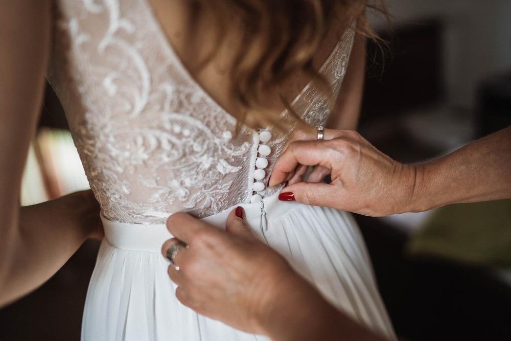 Przygotowania, panna młoda, ślub tuszkówka