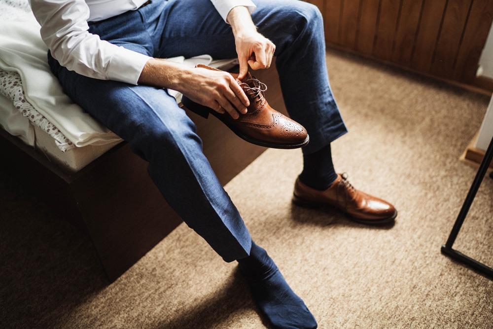 męskie buty do ślubu