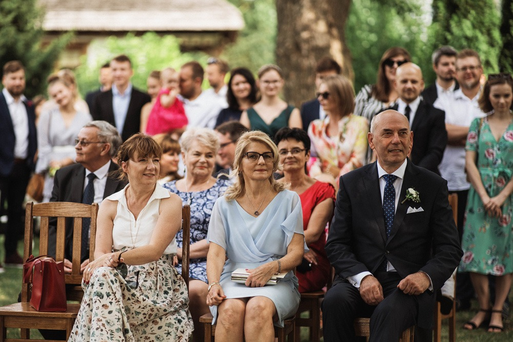 ślub w plenerze dworek Tuszkówka