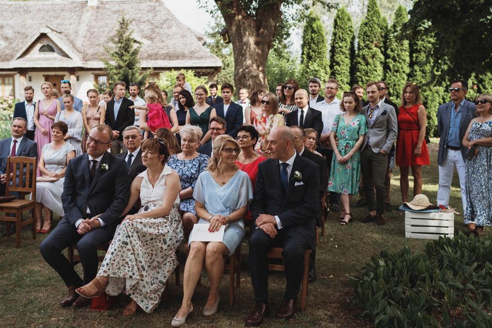 Ślub plenerowy Dworek w Kaputach