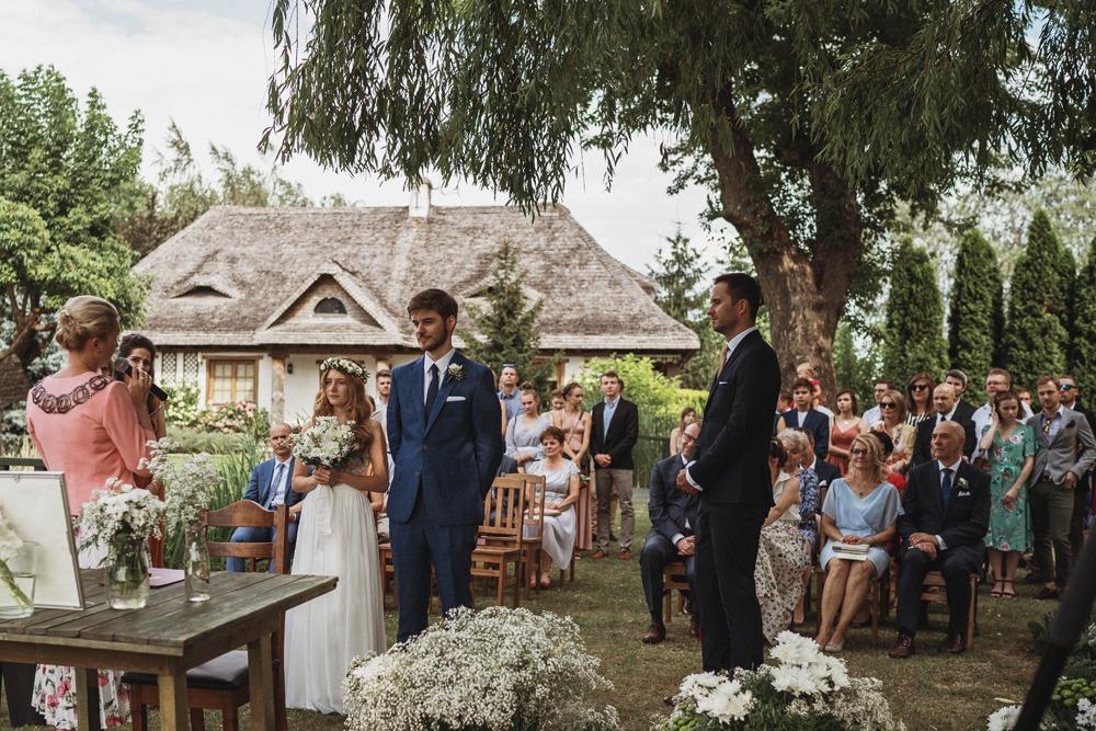ślub plenerowy Dworek Tuszkówka