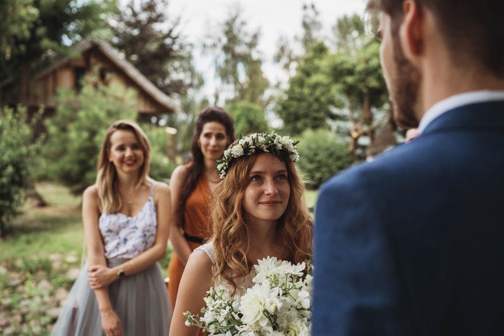 Ślub plenerowy, fotograf ślubny, Dworek Tuszkówka
