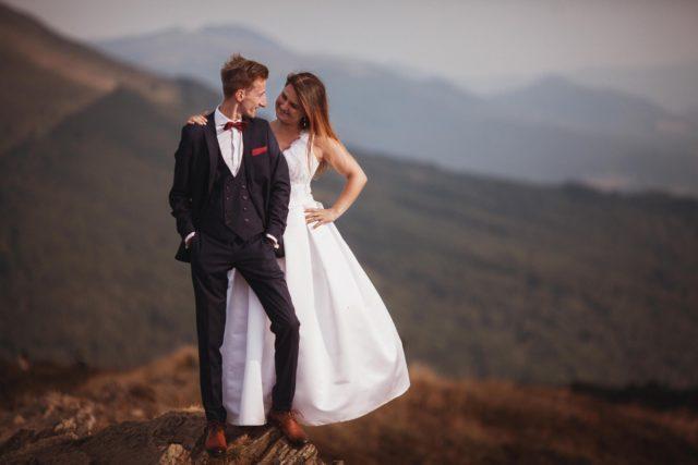 plener ślubny Bieszczady